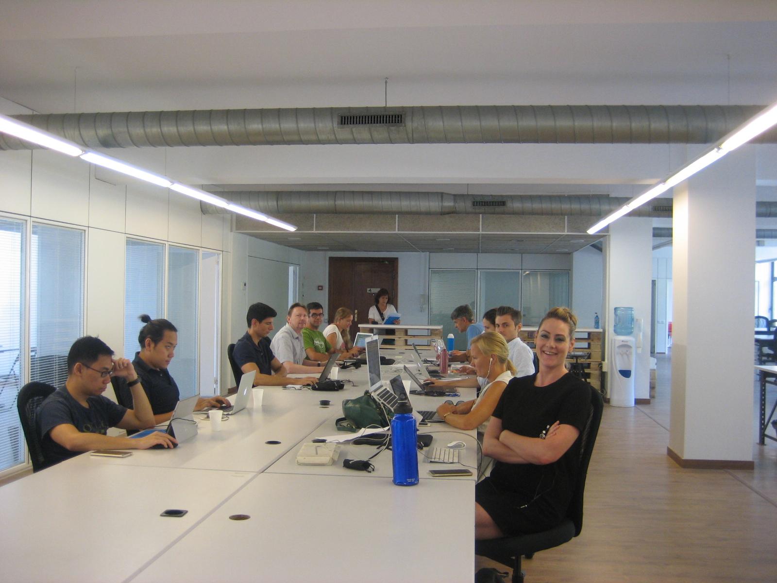 Alquiler de mesas coworking en Barcelona